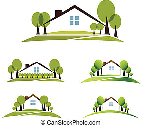 房子, 花園