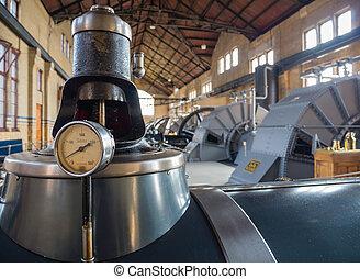 房間, 抽, 機器, 具有歷史意義, 車站, 蒸汽