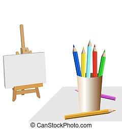 房間, 藝術家