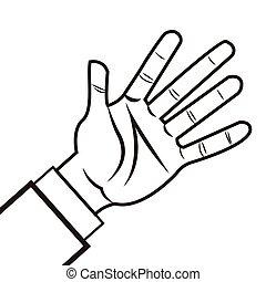 手, 人類, 圖象