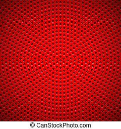 打孔, 圖案, 環繞, 紅的背景