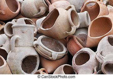 打破, amphoras