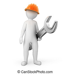 扳手, repairman