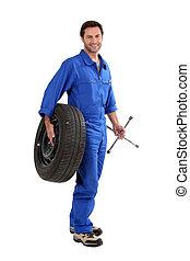 技工, 藏品, 輪胎