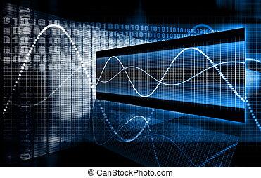 技術, 多媒體, 數据