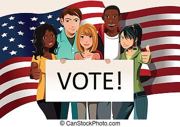 投票, 人們