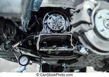拆卸, 汽車, 自動, 傳輸