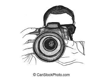 拍照片, 攝影師