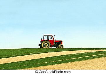 拖拉机, 領域