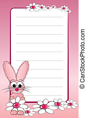 排列, 筆記本, 頁, 孩子, 空白