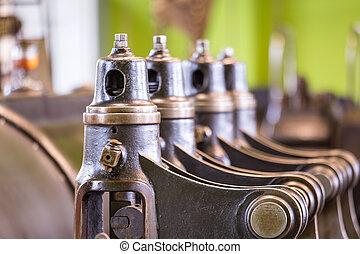 採礦, 葡萄酒, 授權, 絞盤, engine., 蒸汽
