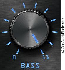 控制, 低音, 水平