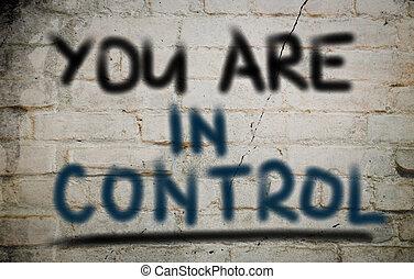 控制, 你, 概念