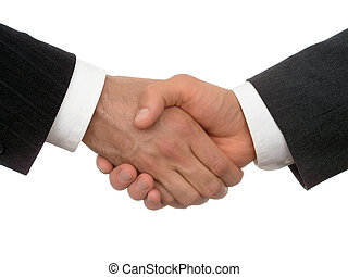 握手, 事務