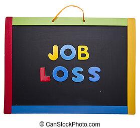 損失, 課, 工作