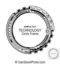 摘要, 技術, 框架, 圓