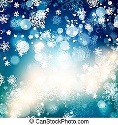 摘要, 明亮, 背景, 聖誕節