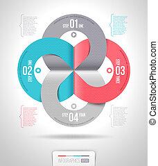 摘要, 樣板, infographics