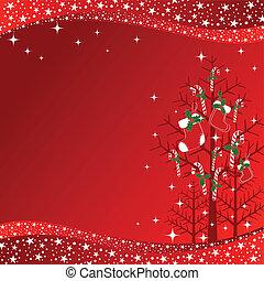 摘要, 牆紙, 樹, 聖誕節