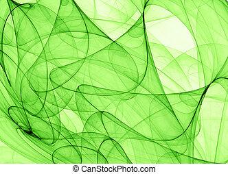 摘要, 綠色的背景