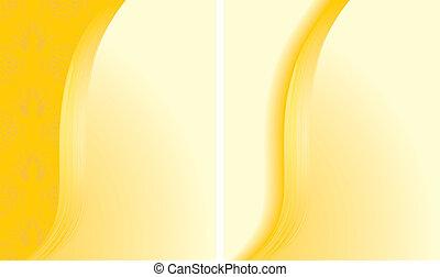 摘要, 背景, 二, 黃色