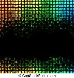 摘要, 背景, 光, 迪斯科, multicolor