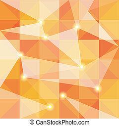 摘要, 鮮艷, 多角形, 背景