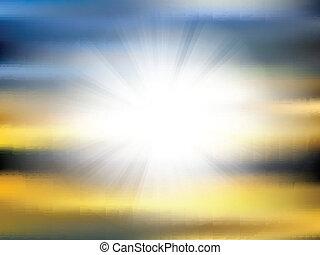 摘要, 3107, sunburst, 背景