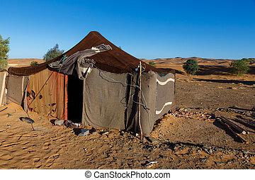 摩洛哥, 帳篷, sahara, bedouins