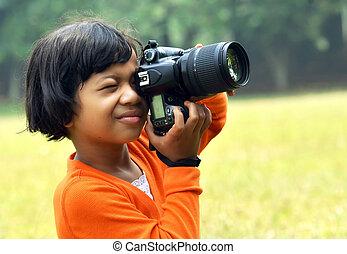 攝影師, 年輕