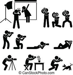 攝影師, 攝影師, 無固定職業的攝影師