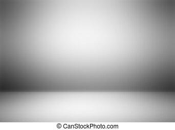 攝影師, 清楚, 工作室, 空, 背景。
