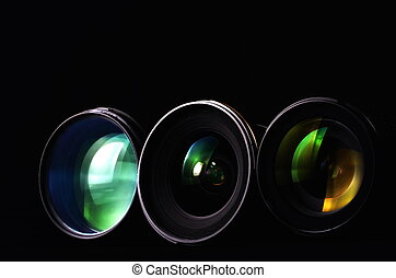 攝影, 透鏡