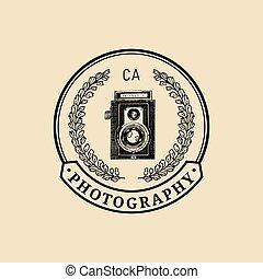 攝影, logo.
