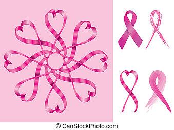 支持, 帶子, 乳腺癌