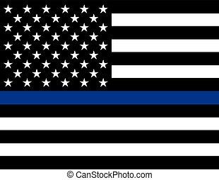 支持, 強制執行, 旗, 法律