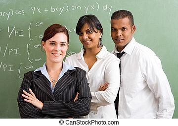數學, 充滿信心, 老師