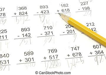 數學, 測試