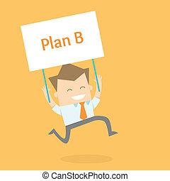 新的人, 事務, proactive, 戰略