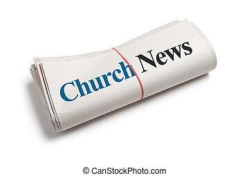 新聞, 教堂