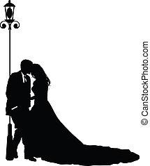新郎, 新娘, 他們, 婚禮