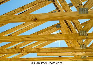 新, 建設, 屋頂