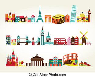 旅行旅遊業, 位置