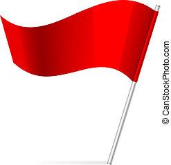 旗, 矢量, 插圖