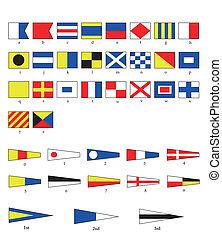 旗, 船舶