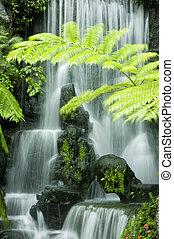 日本花園, 瀑布