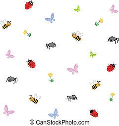 昆虫, 矢量, 插圖