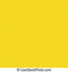 明亮, 波爾卡舞, seamless, 黃色, 點