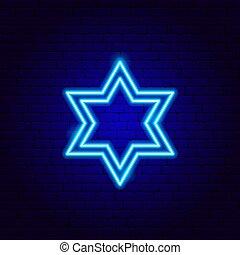 星徵候, 氖, 猶太, david