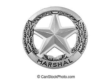 星徽章, marshal